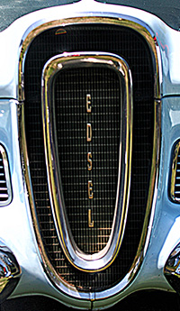edsel front grill