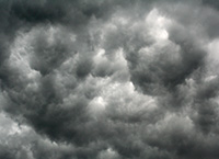storm cloud abstract